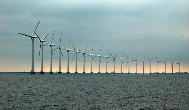 ¿Qué es la energía eólica marina?