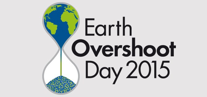 Oggi 13 agosto è l'Overshoot Day 2015