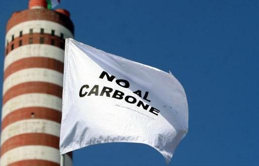 Stop alla produzione di Energia elettrica con il Carbone