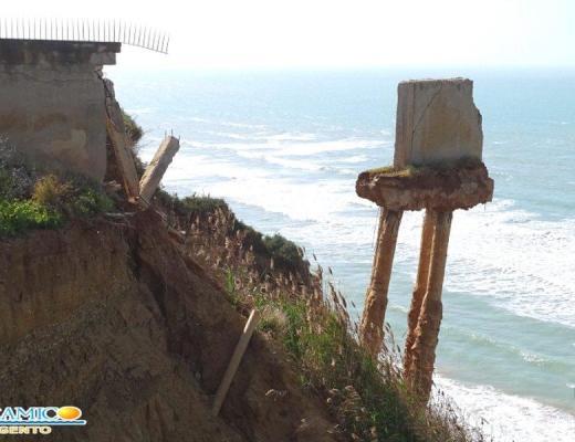 Agrigento allarme erosione: l'intervento della Regione