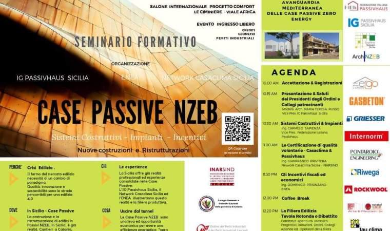 Case Passive Nzeb, il seminario Catania