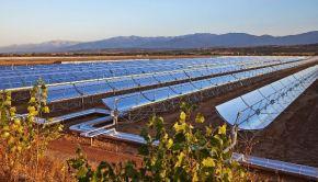 Planta Solar Ouarzazate Marruecos