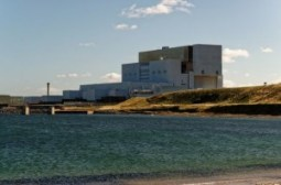 energia nuclear station
