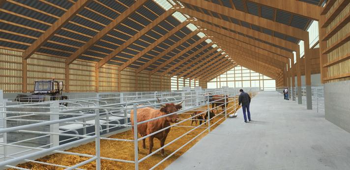 batiment agricole bois constructeur