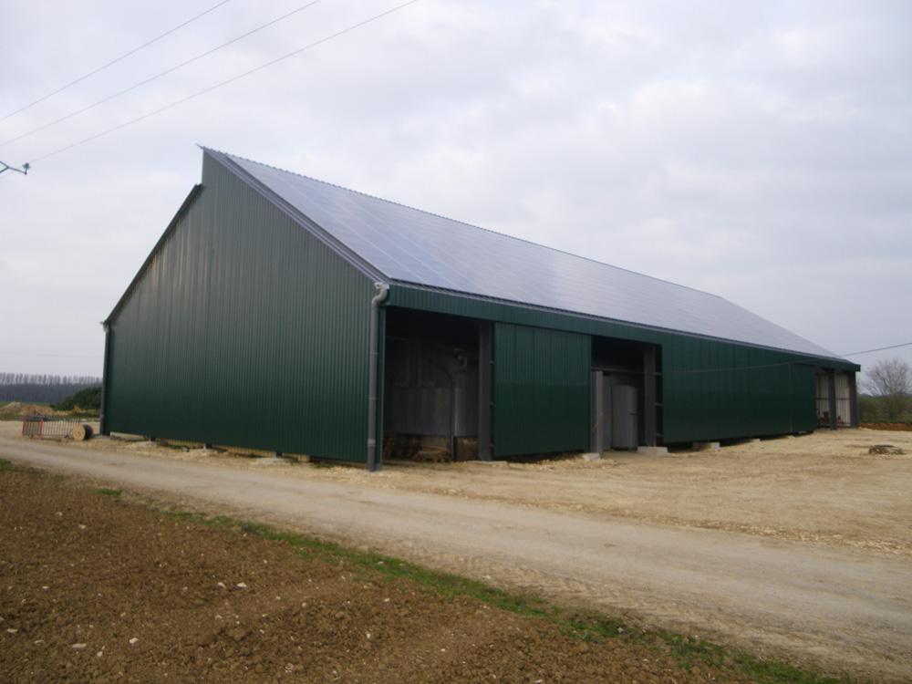 constructeur batiment agricole bois 49