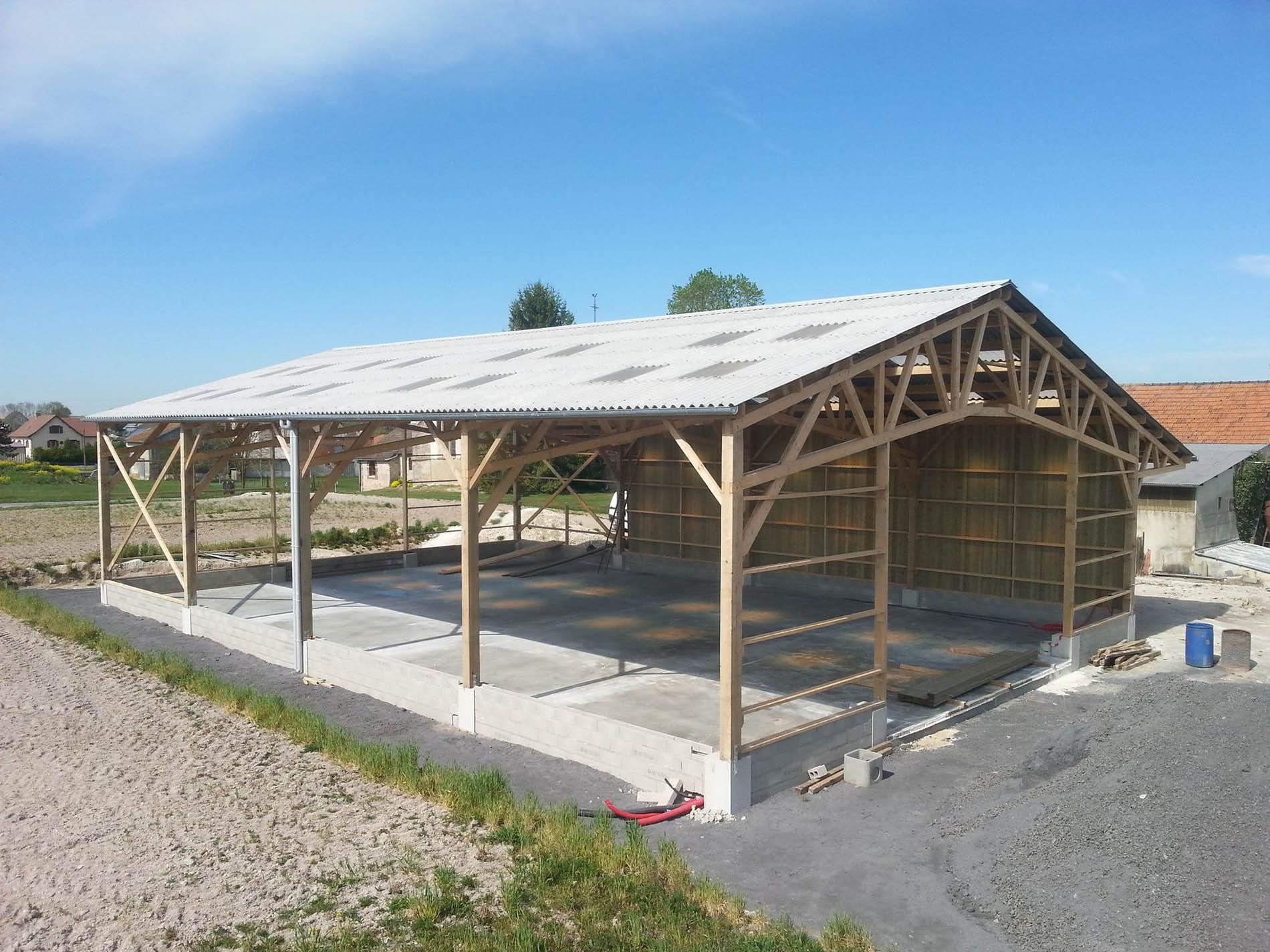 constructeur batiment agricole bois aveyron