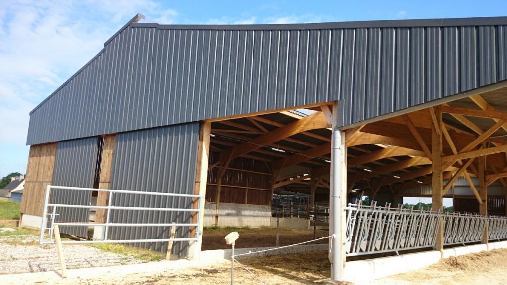 constructeur batiment agricole en bois