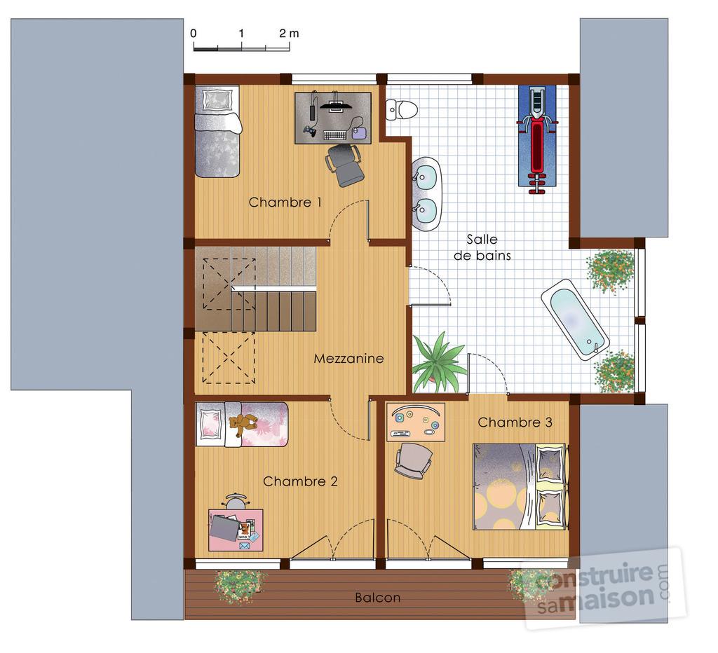 faire son plan maison bois