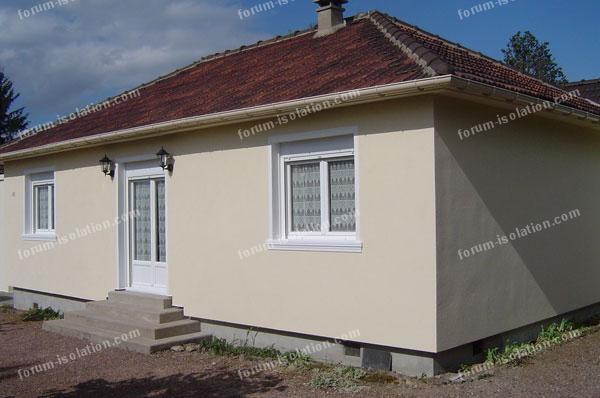 Isolation Maison Par L'extérieur