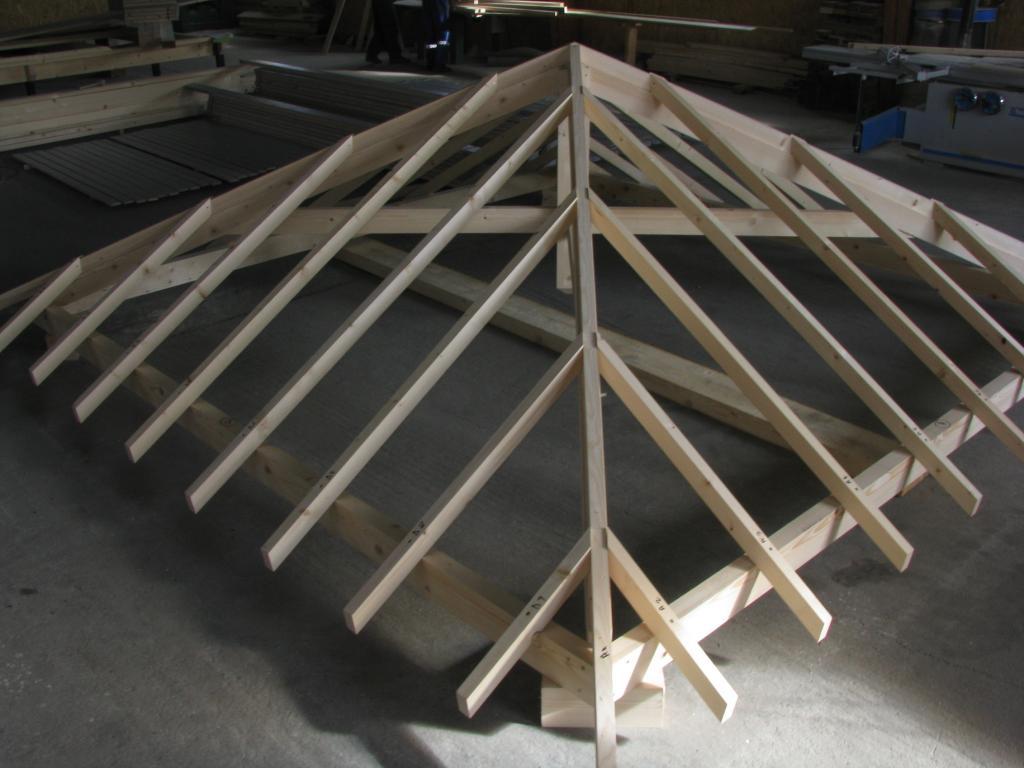 pergola bois hexagonale
