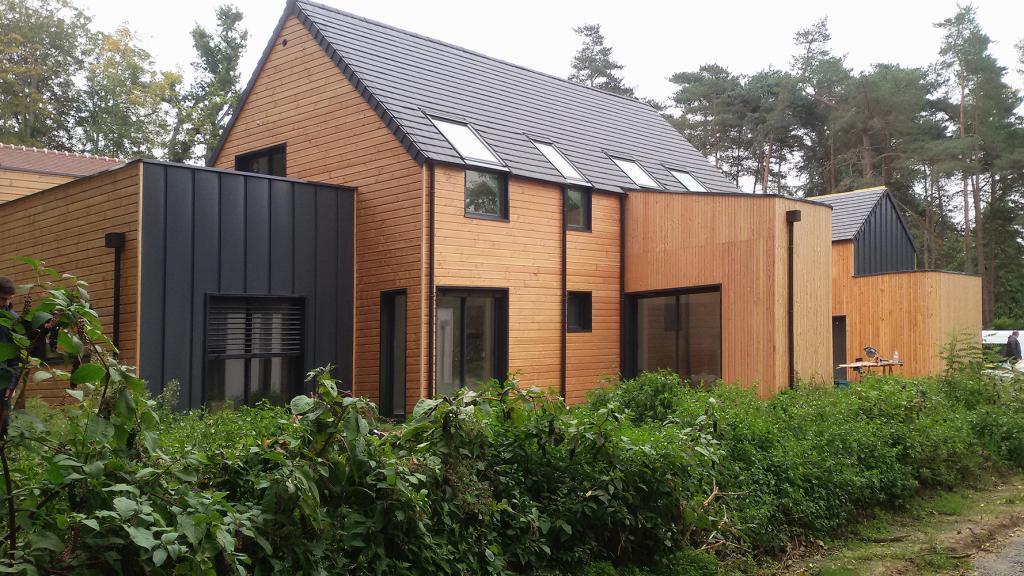 plan de maison en bois en kit