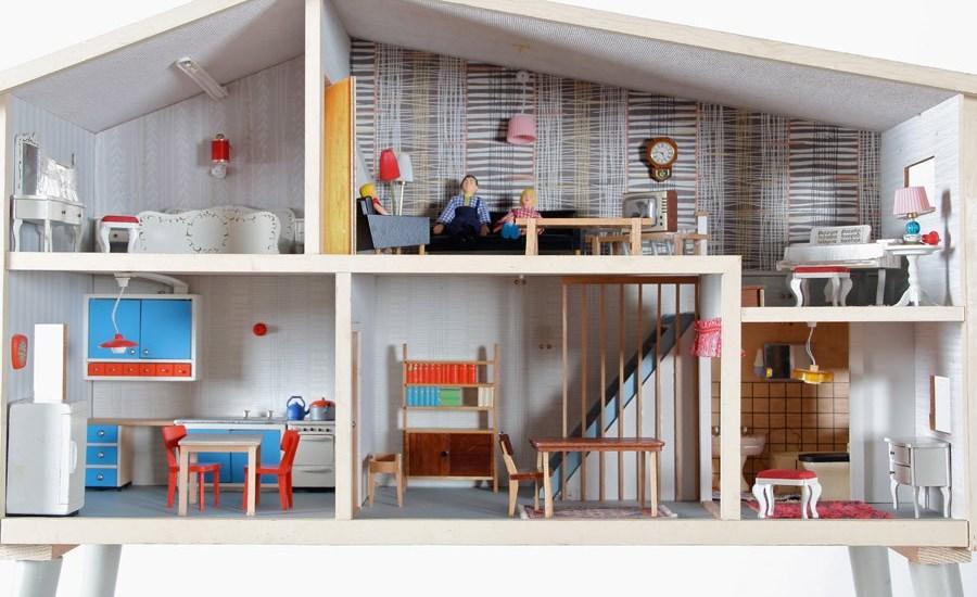 plan de maison en bois miniature
