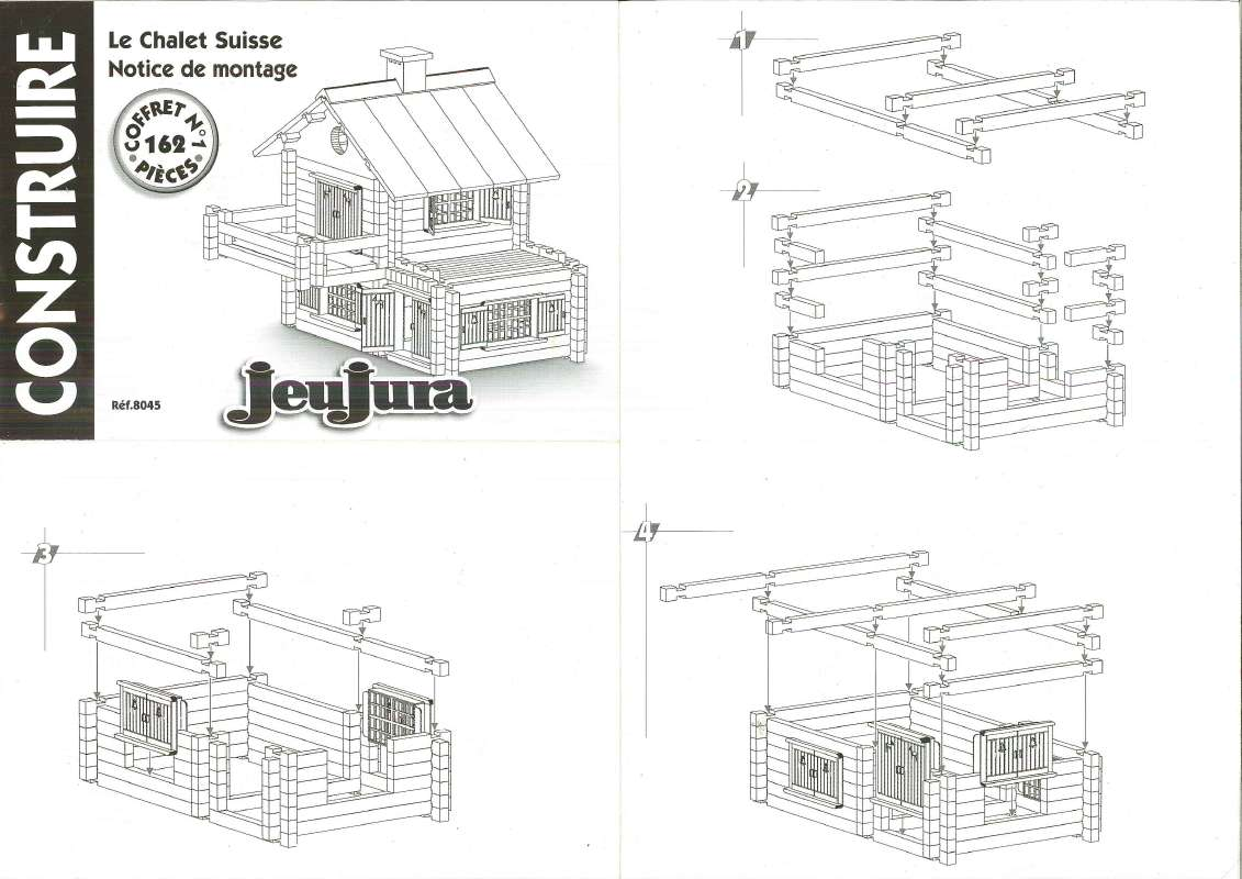 plan maison bois jeujura