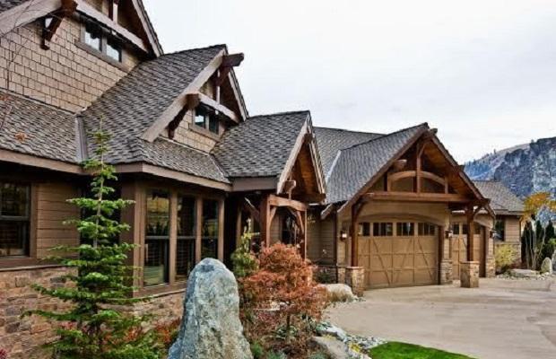 Plan maison bois americaine la biomasse notre energie - Maison bois americaine ...