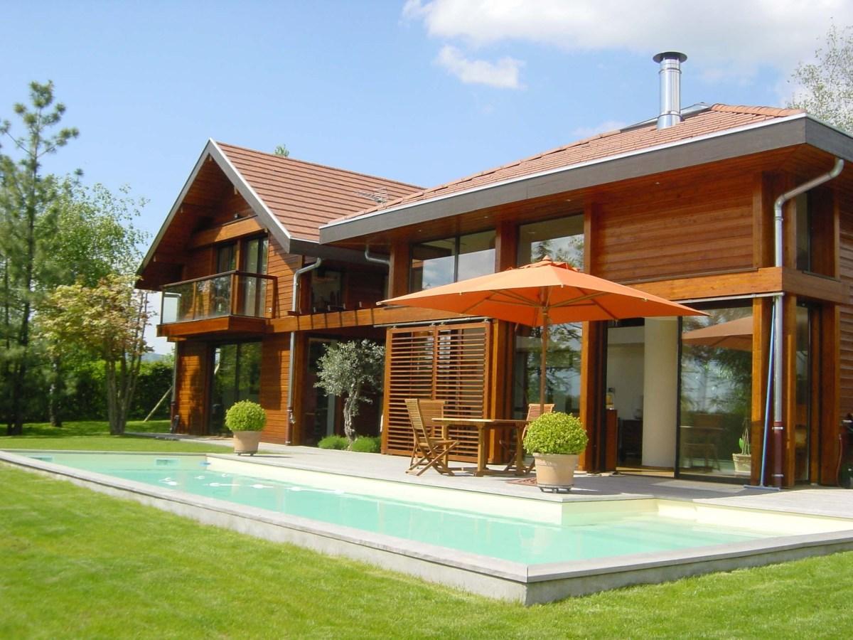 plan maison bois bioclimatique gratuit la biomasse notre energie. Black Bedroom Furniture Sets. Home Design Ideas