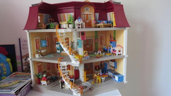 plan maison bois playmobil