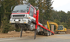 camion grue ampliroll occasion