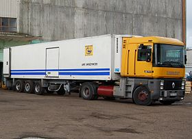 camion tracteur 6x4 occasion