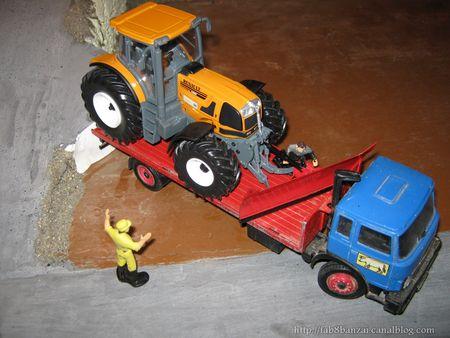 lame a neige pour tracteur