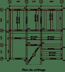 épaisseur ossature bois plan