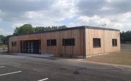 bâtiment en bois