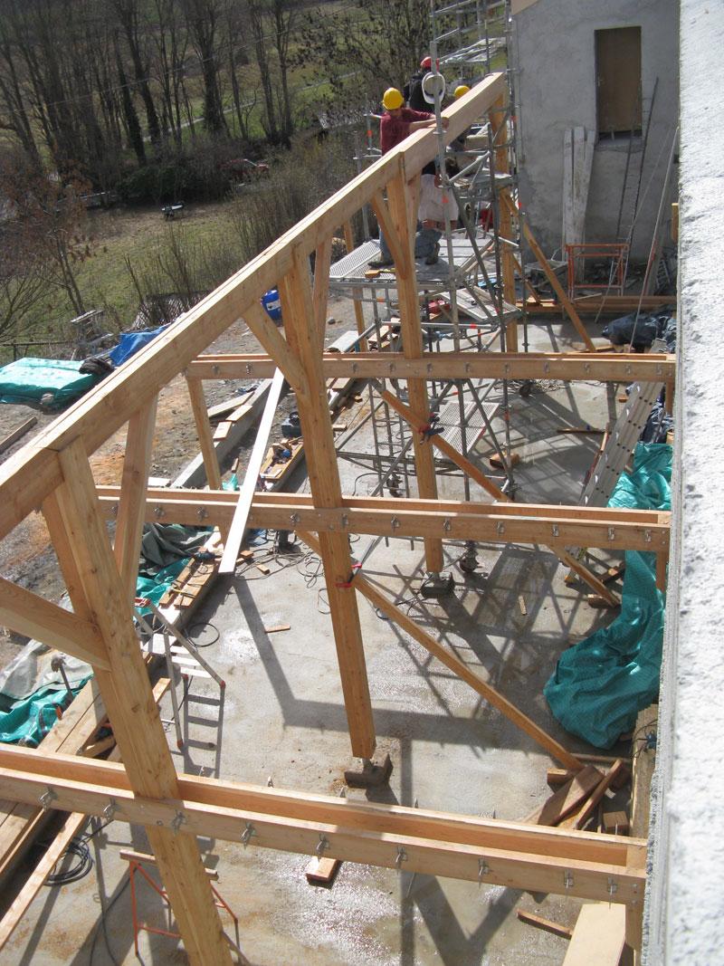 bois pour construction ossature bois