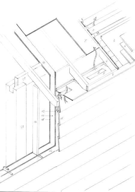 construction ossature bois technique
