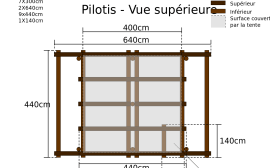 construction pergola bois pour terrasse