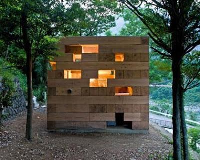 green cube maison