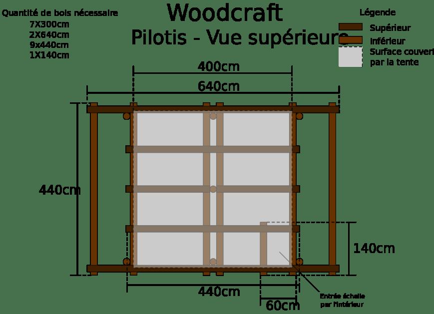 plan pergola en bois gratuit