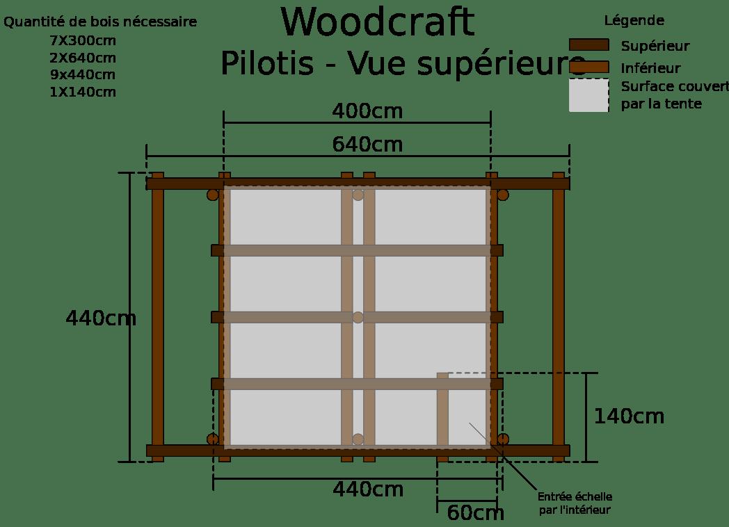 plan pour pergola bois