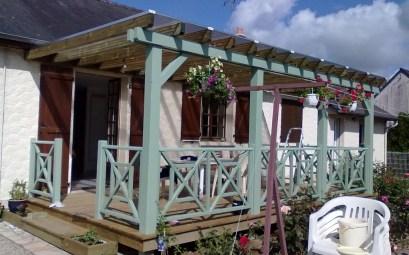 pergolas pour terrasse en bois