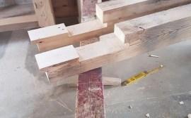 fabrication d'une pergola en bois
