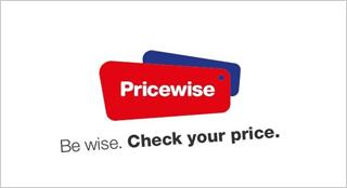 Pricewise website