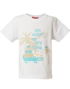 T-shirt μακώ τύπωμα \