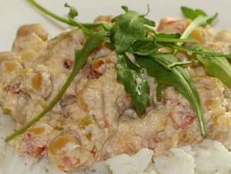 Rychlý a zdravý recept na oběd: Cizrna na smetaně.