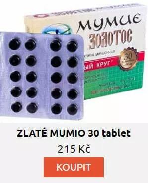 ZLATÉ MUMIO 30 tablet