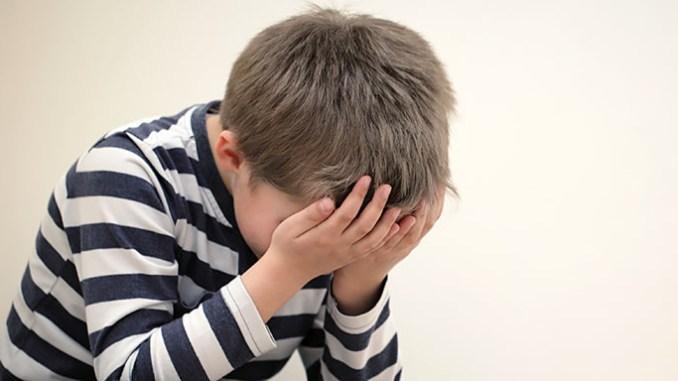 Úzkost u dětí může přerůst do psychické poruchy.