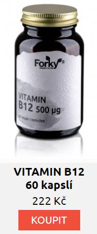 VITAMIN B12 60 kapslí