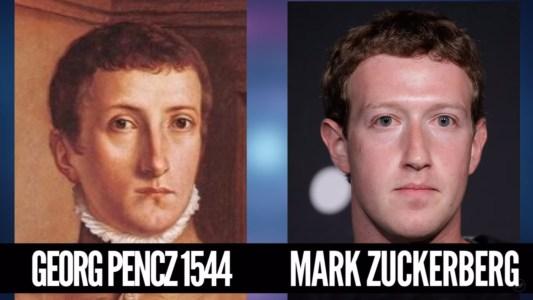 Cestování časem - Mark Zuckerberg.