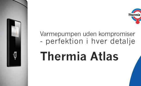 Thermia Atlas jordvarmepumpe