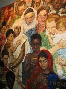 Rockwell Mural at the UN Building - Photo courtesy of Iris Lloyd