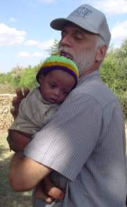 Dave and Ethiopian baby
