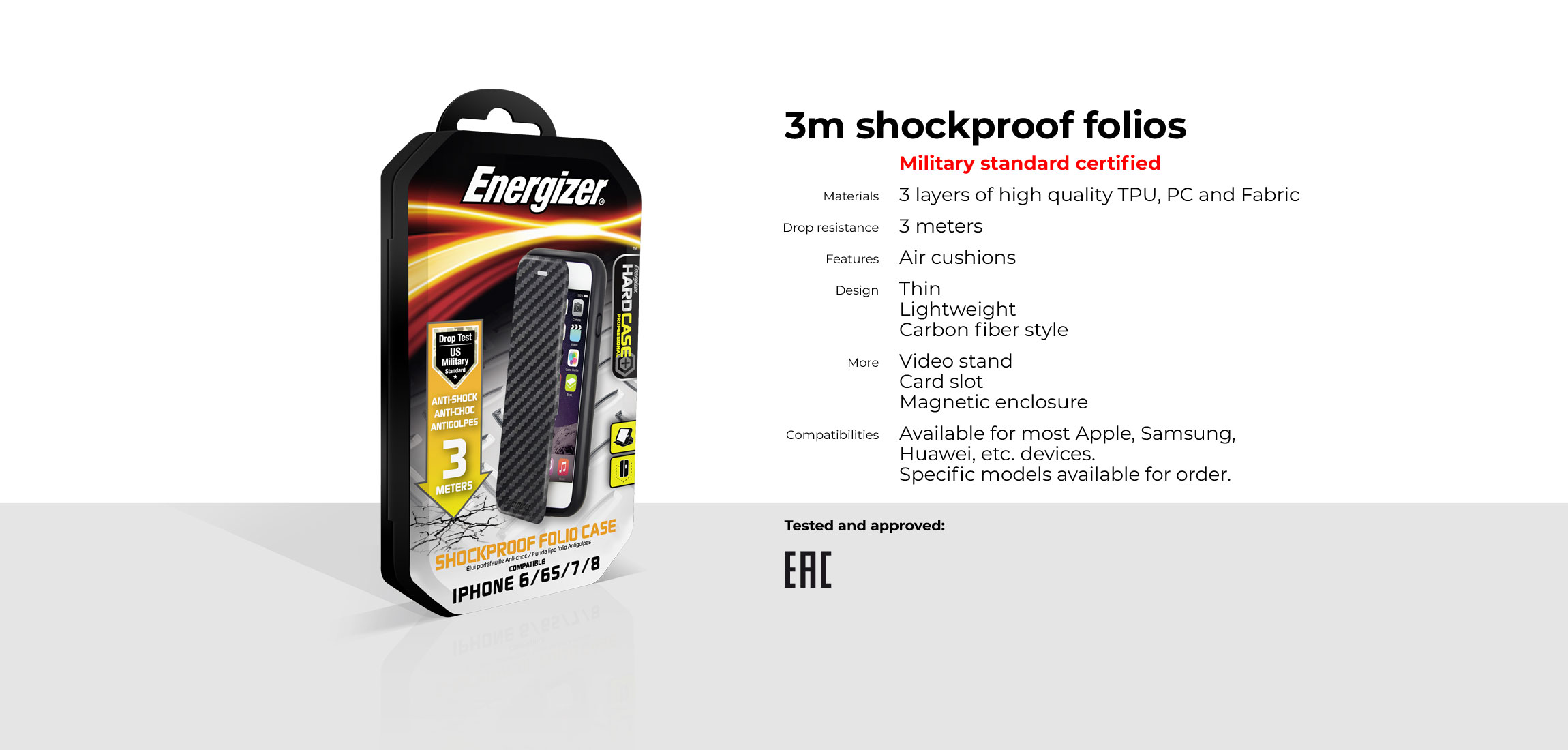 Energizer Mobile: View accessories