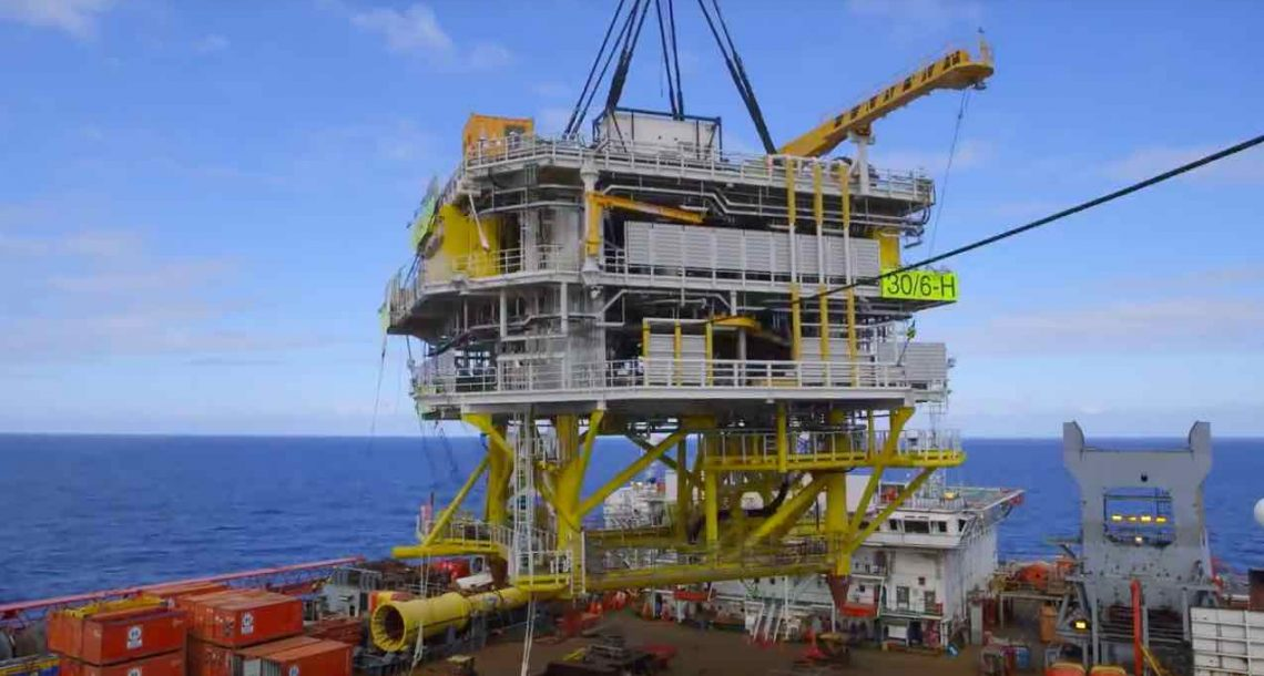 Equinor starts up unmanned North Sea rig