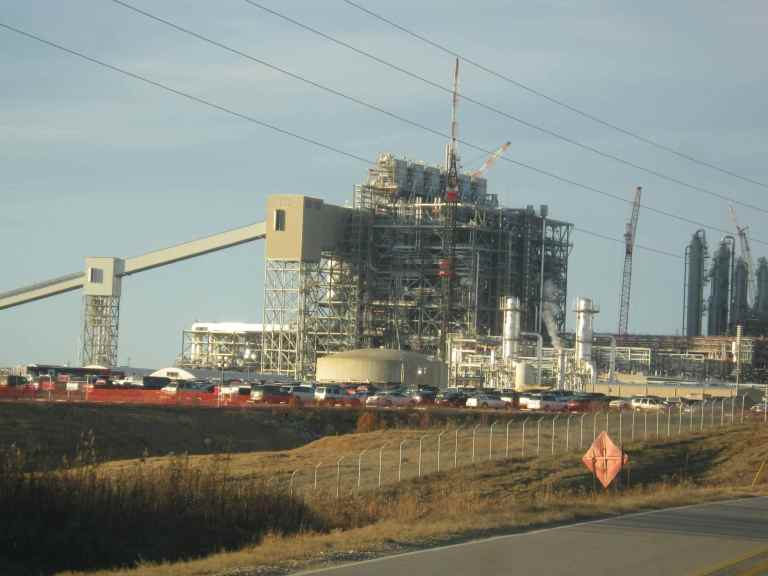 "The Kemper ""clean coal"" power plant."