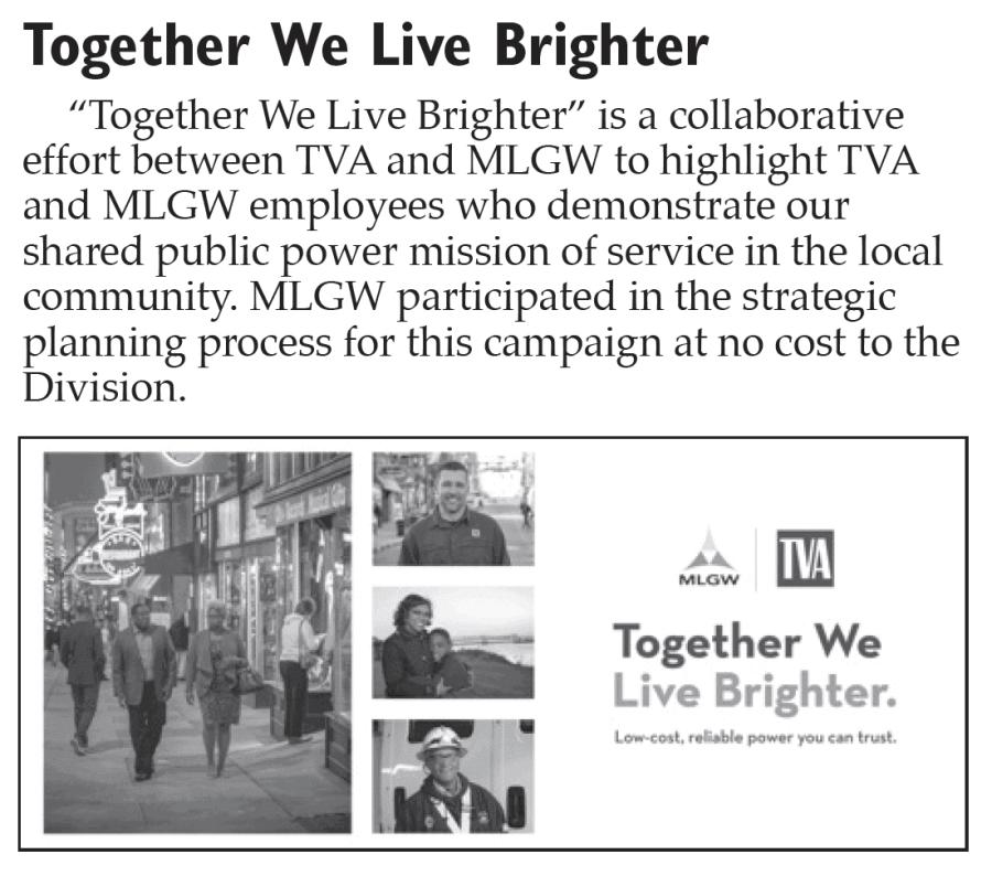 TVA MLGW Together We Light Brighter