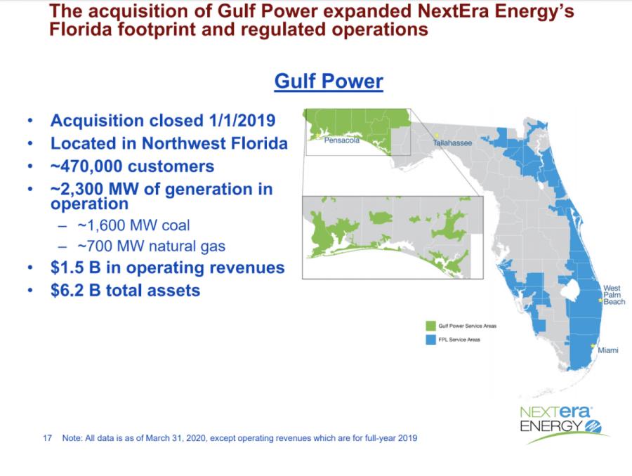Image from NextEra Energy Investor presentation