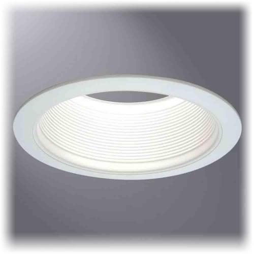 cooper lighting 6100wb 6 inch white baffle white trims