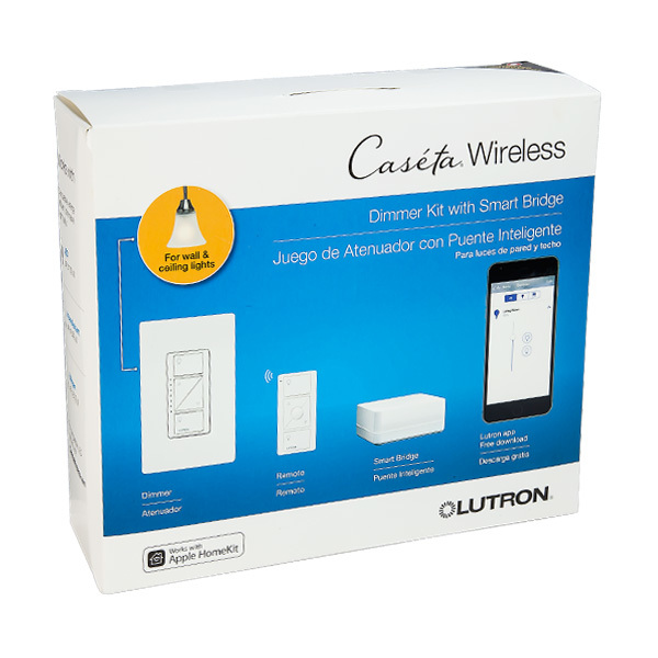 lutron p bdg pkg1w caseta wireless dimmer kit